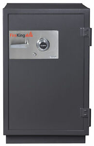 Fireking 2 hour Fire With Impact And Burglary Rated Security Safe