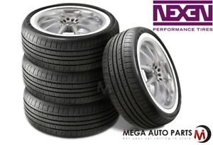 4 X New Nexen N priz Ah5 215 75r15 100s White Wall All Season Performance Tires