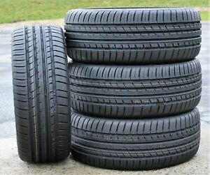 4 New 215 40zr18 215 40r18 89y Cosmo Mm A s High Performance All Season Tires