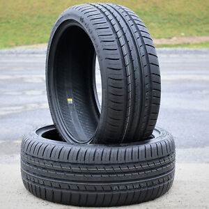 2 New 215 40zr18 215 40r18 89y Cosmo Mm A s High Performance All Season Tires