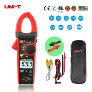 Uni t Ut216c 600a Digital Clamp Meter Ncv Backlight T Ac Dc Multimeters Clip
