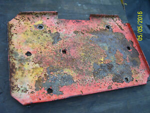 Vintage Ji Case 210 B Tractor battery Tray 1958