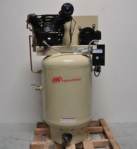 Ingersoll rand 120 gallon 3 phase Electric Stationary Air Compressor 35 0