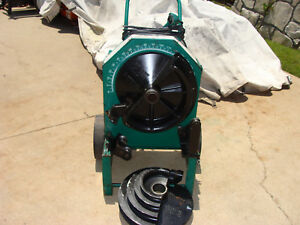 Greenlee 555 Conduit Pipe Bender 1 2 To 2 Pvc Coated Shoes gr8cond Nr