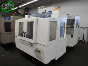 Hitachi Seiki Hg400 Iii 4 axis Horizontal Cnc Mill