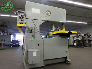 Grob 36 Metalworking Vertical Band Saw Model S36 Id S 024