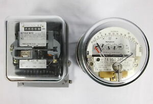 Lot 2 Westinghouse D5sh Osaki Oq91hk4t Electrical Power Usage Meters