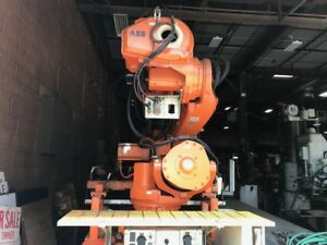 Abb Irc5 Irb6640 Robot W controller Cables Teach Pendant 50ft Track