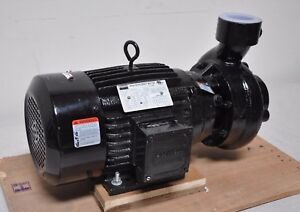 Dayton Stainless Steel 7 5 Hp Centrifugal Discharge Pump Fan Cooled 208 230 460v