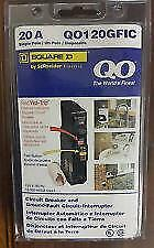 Square D Qo120gfic Qo120gfi 20amp Gfci Ground fault Breaker New In Package