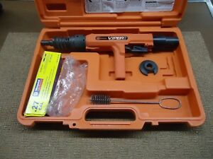 Ramset Red Head Viper 27 Caliber Powder Actuated Tool W Case