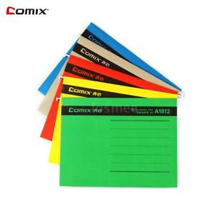 A4 Size Hanging File Folders Assorted Colors 25 pack School Tidy Stationery B5o5