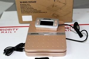 Accuteck W 8580 Gold Digital Shipping Postal Scale 110lbs X 0 1 Oz