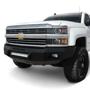 For Chevy Silverado 2500 Hd 15 19 Bumper Heavy Duty Low Profile Series Full