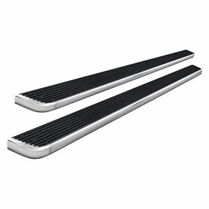 For Jeep Liberty 2008 2013 Apg Ib10eba9a 5 Istep Silver Running Boards
