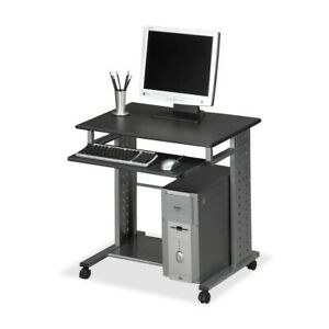 Mayline Group Mobile Workstation Av Cart Anthracite