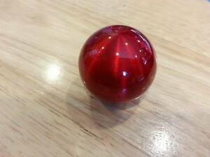 Candy Red Weighted Ball Shift Knob Fits Some Honda acura toyota subaru nissan