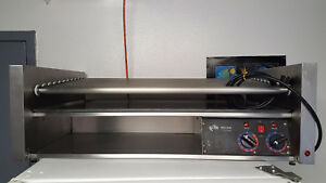 Star Grill max 50c Hot Dog Roller Grill And Full Size Bun Warmer Cabinet