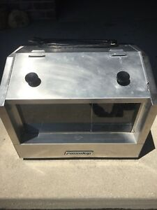A j Antunes Roundup Hot Dog Hutch Holds 33 Hot Dogs 20 Buns 120v Model Hdh 3