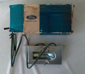 Nos 1971 Ford Galaxie Ltd Accessory Courtesy Dome Map Trunk Hood Light Lamp