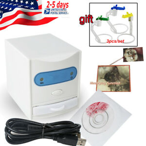 Dental Digital X ray Film Reader Viewer 50x Magnifying 3pcs X ray Film Sensor