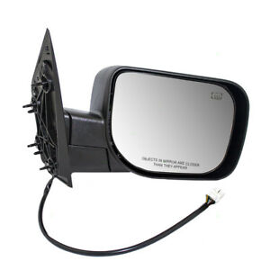 Passenger Side Power Single Arm Mirror Heated For Qx56 Armada Titan Pickup Truck