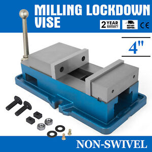 4 Non swivel Milling Lock Vise Bench Clamp Removal Milling Hardened Metal