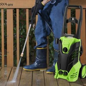Pro 3000 Psi 1800w High Power Electric Pressure Washer 1 7 Gpm Us Ship S15y 07
