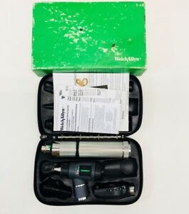 Welch Allyn 3 5v Macro View Otoscope 23810 ophthalmoscope 11710 Diagnostic Set