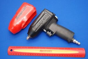 New Snap On Tools Black 3 8 Drive Air Impact Wrench Mg325 With Boot Ships Free