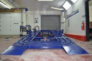16 Auto Body Frame Machine Including Everything In Pics Clamps Tool Tools Cart