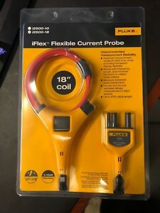 New Fluke I2500 18 Iflex Flexible Current Probe 2500a Current 0 1a Resoluti