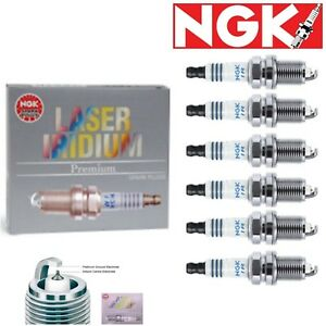 6 Pcs Ngk Laser Iridium Plug Spark Plugs 2000 2004 Toyota Avalon 3 0l V6 Kit Set