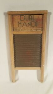 Vintage Columbus Ohio Dubl Handi Washboard 23727 Small Hosiery