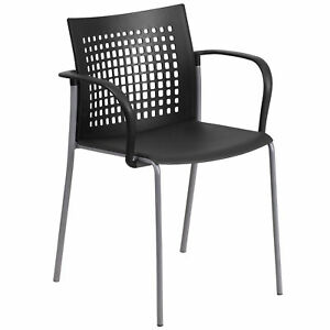 Hercules Series 551 pound Capacity Stack Chair With Air vent Back And Arms