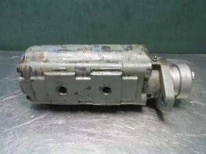 Permco P1500b 096 Bh za05 Hydraulic Tandem Dual Gear Pump 7 8 Shaft