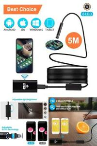 Wireless Endoscope Depstech Wifi Borescope Inspection Camera For Iphone Android