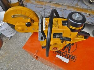 Very Nice Wacker Bts 11 12 Cut off Chop Saw Concrete Asphalt Rebar Demolition
