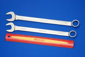 New 2015 16 Snap on 15 16 1 Standard Handle 12 point Combination Wrench Set