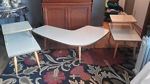 Mid Century Modern End Coffee Tables Mansion House Furniture Los Angelas Ca