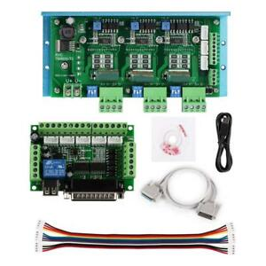 Sainsmart Cnc Router 3 Axis Kit Tb6600 3 4 5a Stepper Motor Driver Board