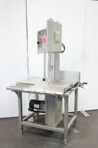 Hobart 5801 Butcher Market Beef Meat Commercial Band Saw Slicer 220v 3ph