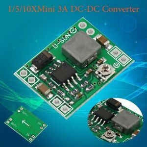 10x Mini 3a Dc dc Converter Adjustable Step Down Power Supply Modul