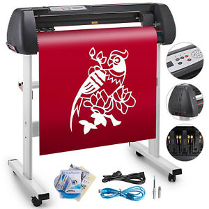 34 Vinyl Cutting Plotter Sign Cutter Usb Port Printer Sticker Craft Cut Pro