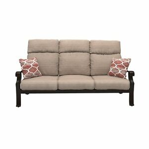 Alcott Hill Jacobi Patio Sofa With Cushions