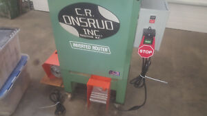 Onsrud Inverted Pin Router Model 2003 W Vacuum Hold Down 120v Free Shipping