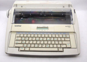 Brother Ml 300 Display Electric Typewriter Word Processor fair Condition works