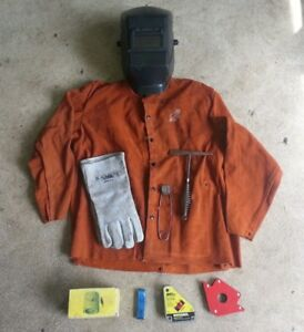 Welding Gear Set Jacket Hood Gloves Other Accessories