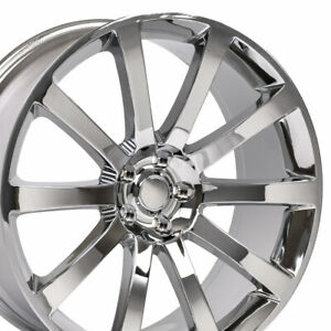 22 Rims Fit Dodge Chrysler 300 Srt Magnum Chrome Wheels 2253