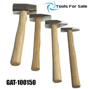 Auto Body Aluminum Hammer Kit 4pc For Auto Body And Collision Repair